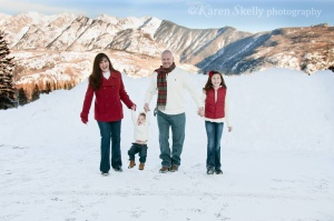 Moffat Family at Durango Mountain Resort by Durango CO Photographer