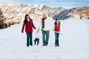 Moffat Family at Durango Mountain Resort by Durango CO Photographer
