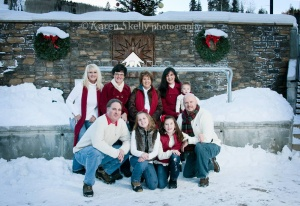 Moffat Family at Durango Mountain Resort by Photographer Durango CO
