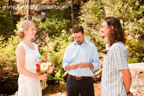 Wedding on the Colorado Trail by Durango CO Photographer