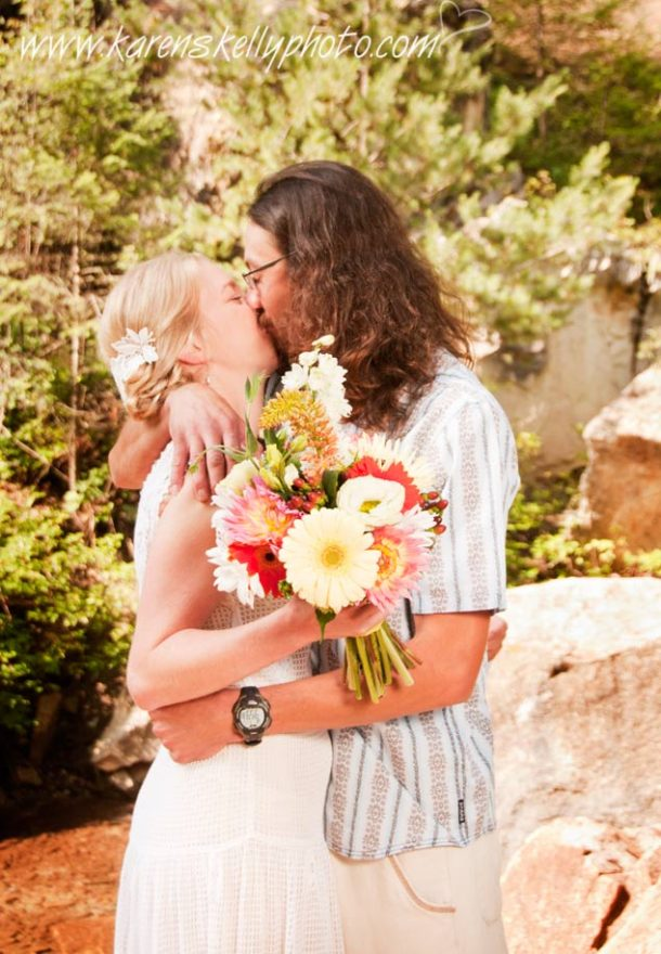 Wedding on the Colorad Trail by Photographer Durango CO