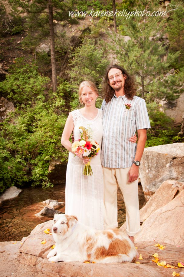 Colorado Trail Wedding by Wedding Photographer Durango CO