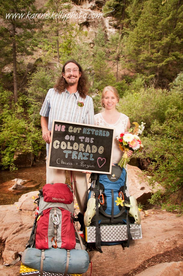Married on the Colorado Trail, by Durango CO Photographers, photographers in durango co, durango photography, durango wedding photographers