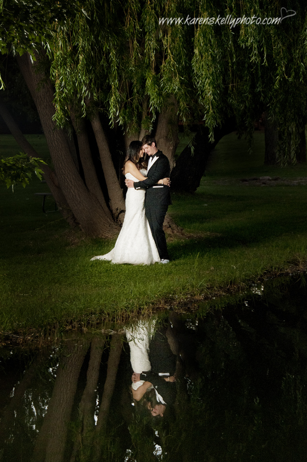 Bride and Groom reflection,Durango Wedding Photographers, Photographers Durango CO, Durango CO Photographers