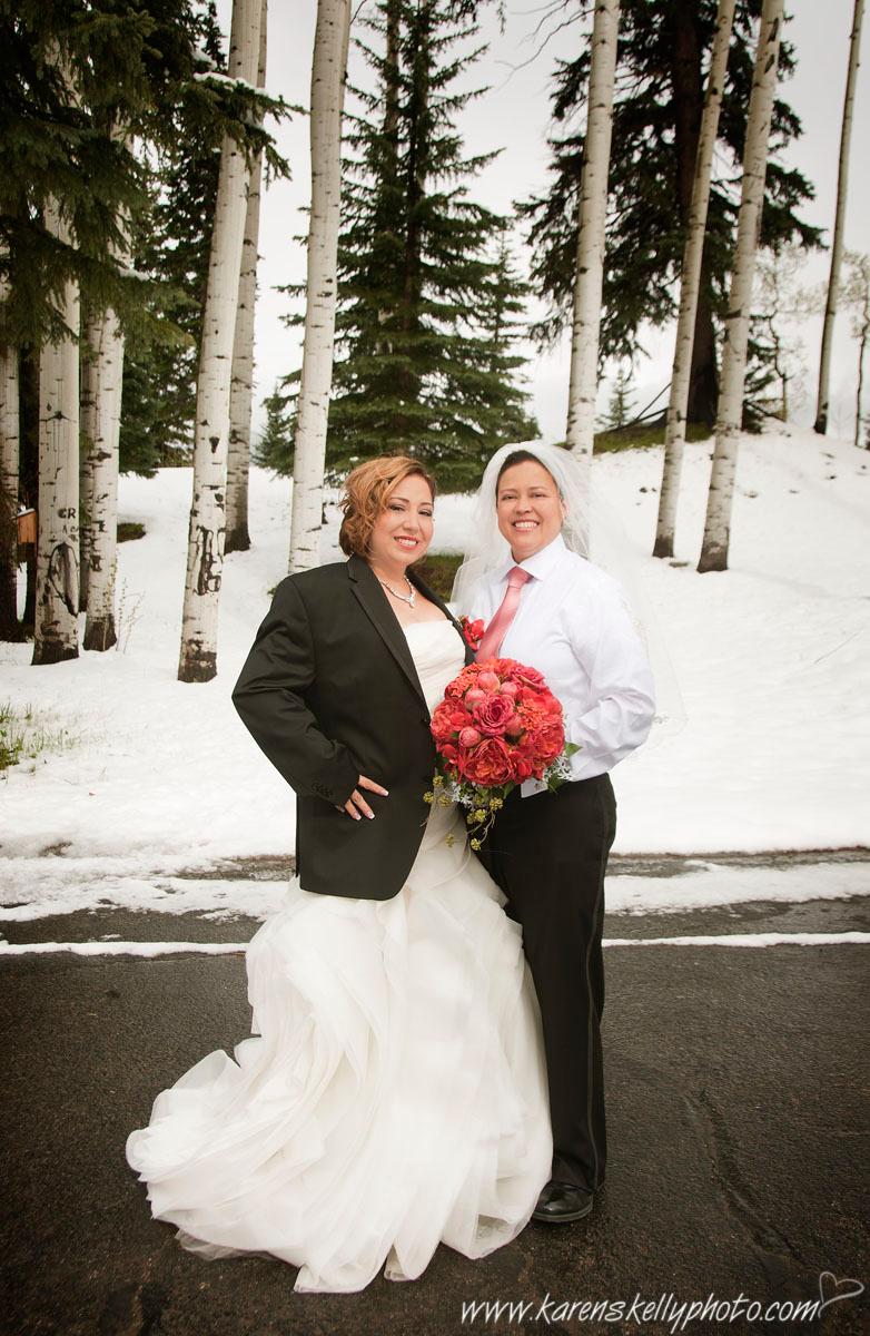 Same Sex Wedding By Durango Wedding Photographers Durango