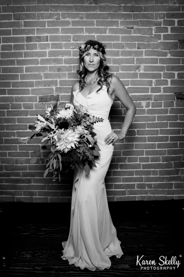Bridal Portrait in black and white by Photographers in Durango CO, Durango CO Photographers, Durango Wedding Photographers, Wedding Photographers in Durango CO