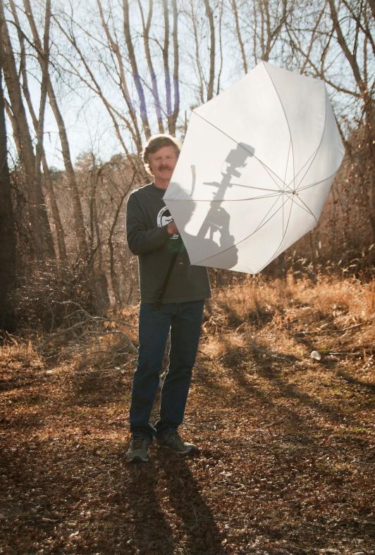 Photographer's umbrella with flash, Photographers in Durango CO, Durango CO Photographers, Durango Photography, Durango Wedding Photographers