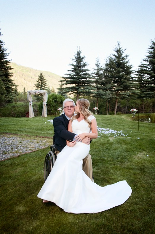 Bride with her grandpa, Photographers in Durango CO, Durango Photographers, Durango Photography