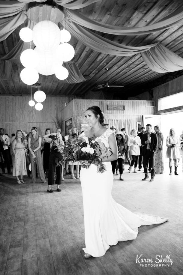 Bride entering ceremony site, photographers in durango co, durango photography, durango co photographers, durango wedding photographers