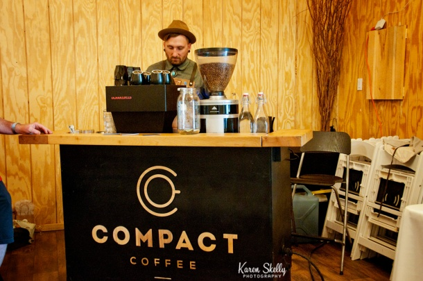 Coffee bar at wedding reception, durango photography, photographers in durango co, durango photographers