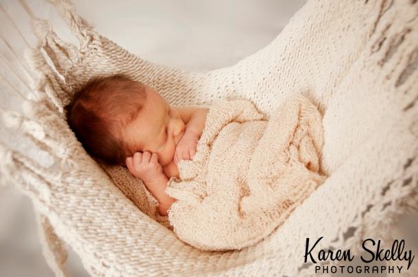 Newborn baby in hammock, photographers in durango co, durango photography, durango co photographers