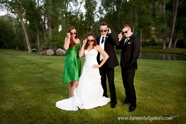 Wedding party by durango photographers, photographers in durango co, durango photography, durango wedding photographers